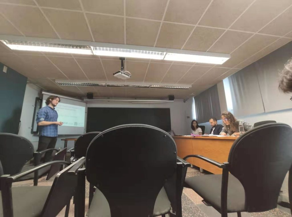 Sergi Danés has finished his Master Thesis